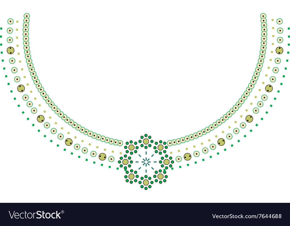 Neckline Design Fashion Royalty Free Vector Image