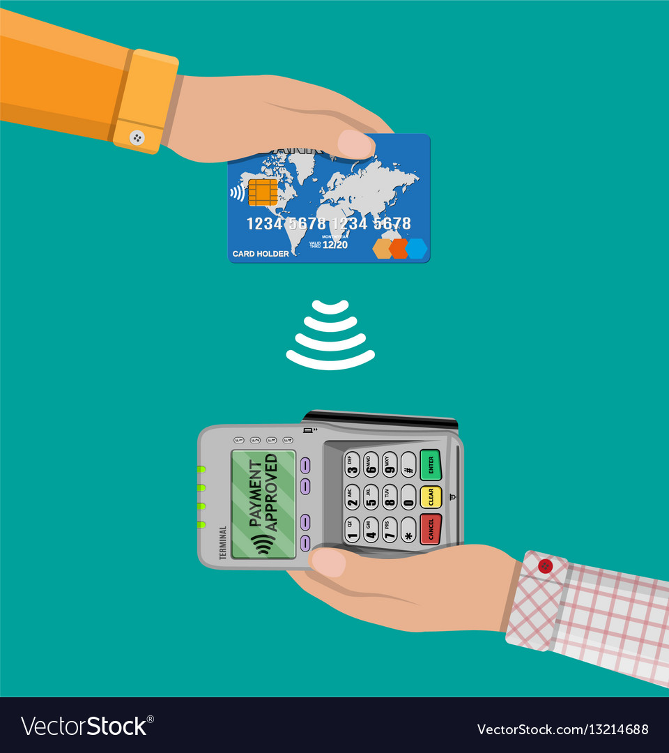 Payments using terminal and bank card