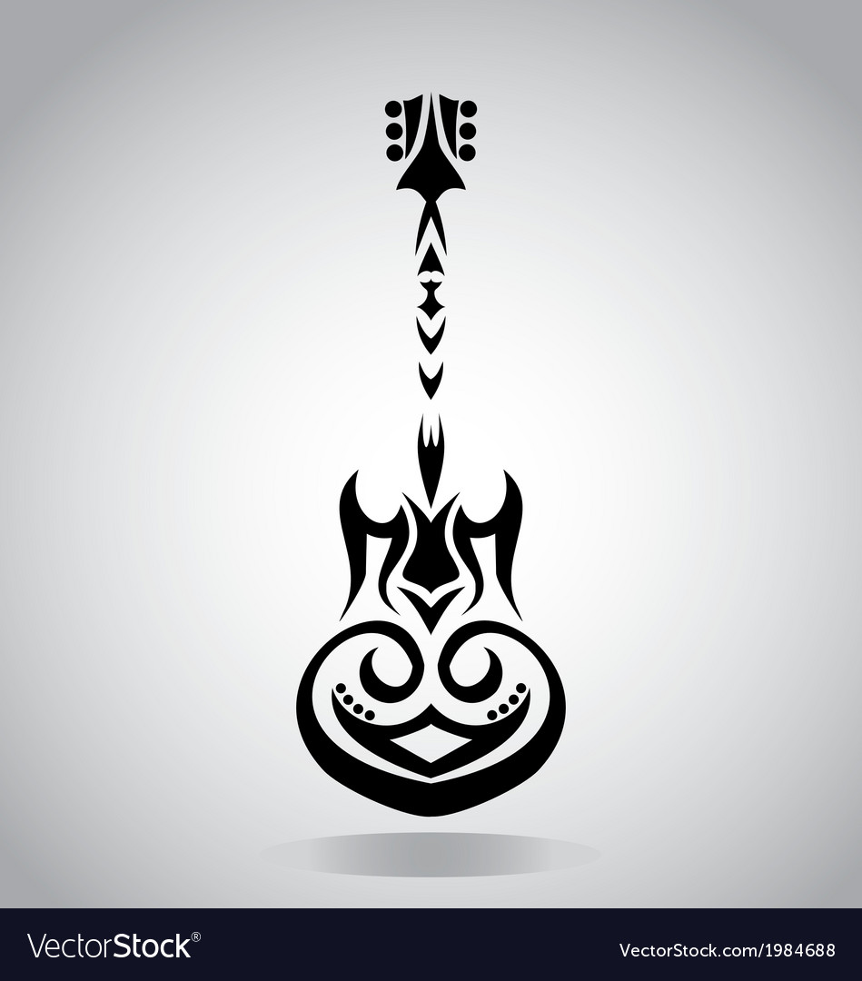 Tribal Guitar