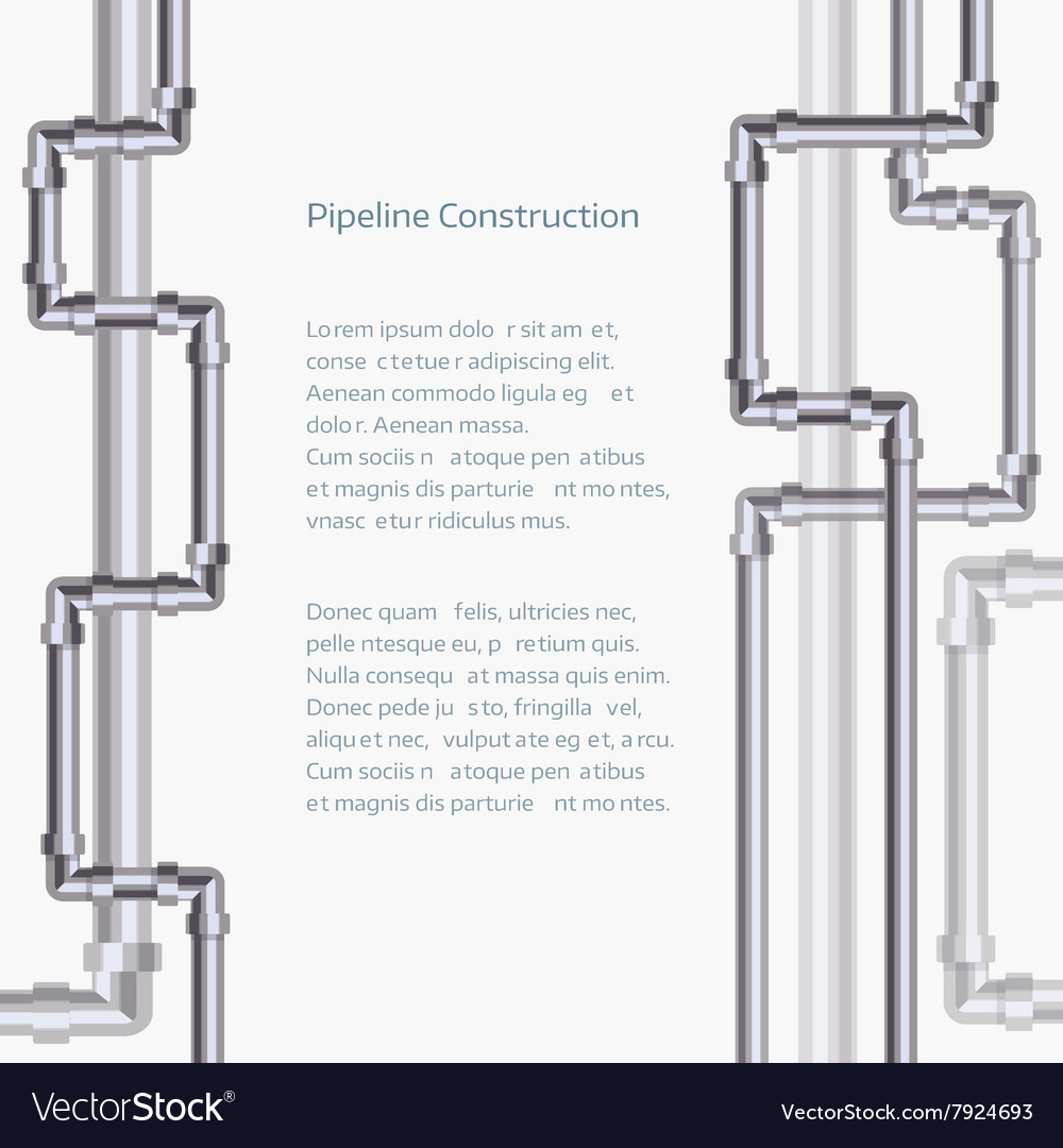 Abstract vertical background with flat designed vector image