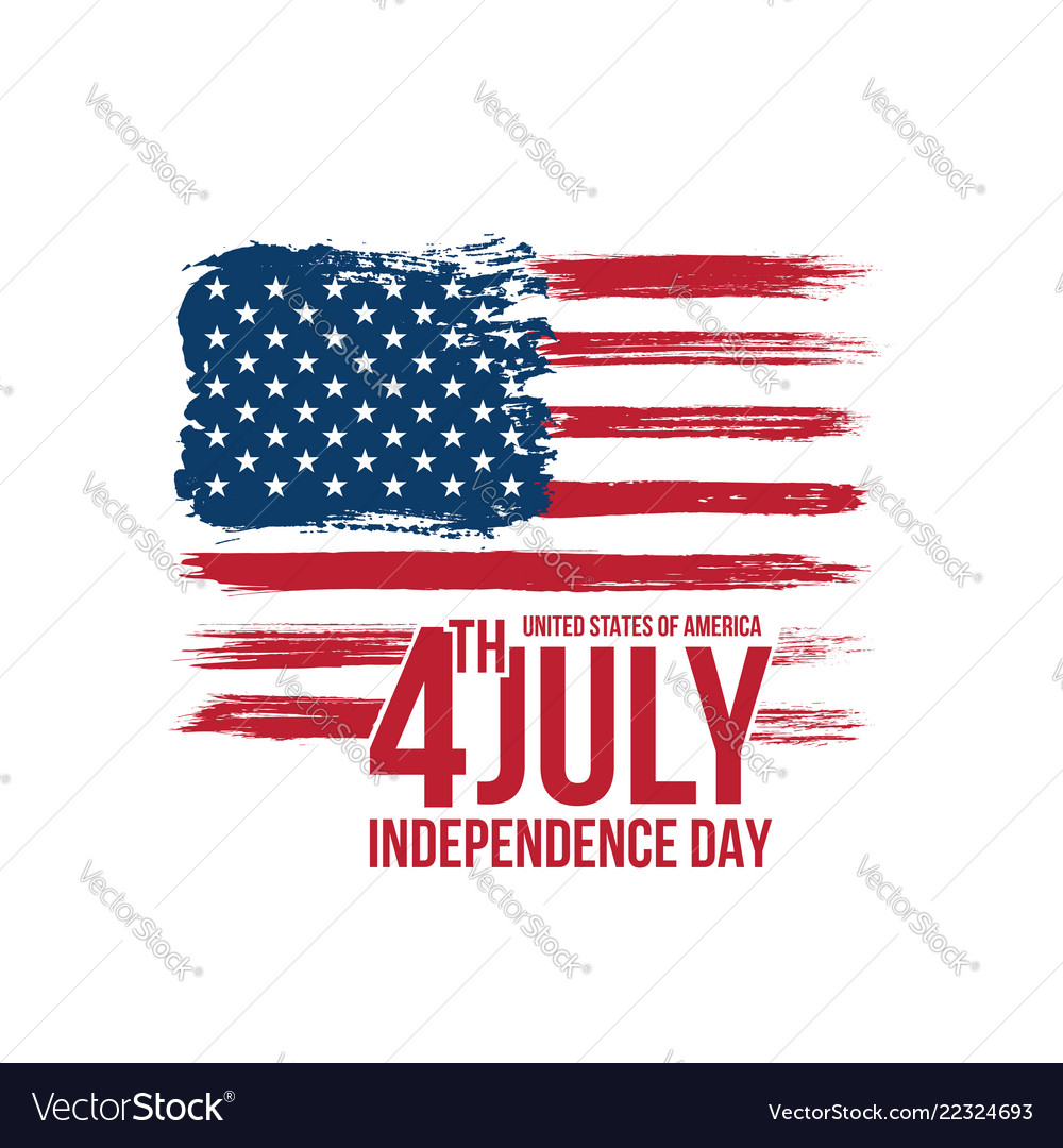 Happy independence day fourth july