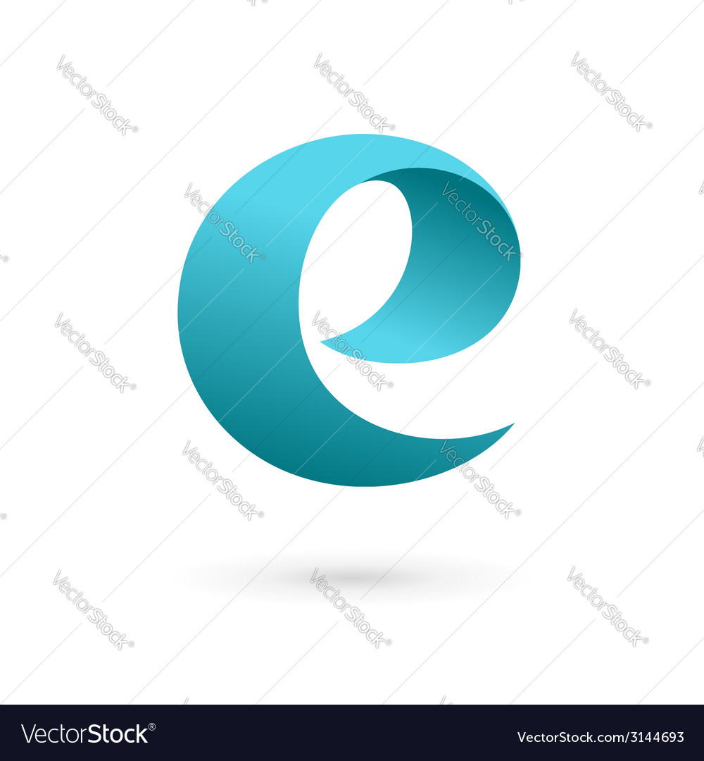 Letter e logo icon design template elements vector image spiritdancerdesigns Gallery