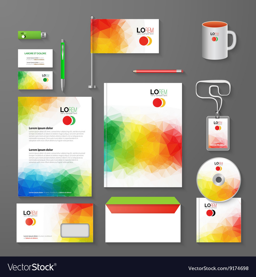 Abstract Corporate Business identity Template