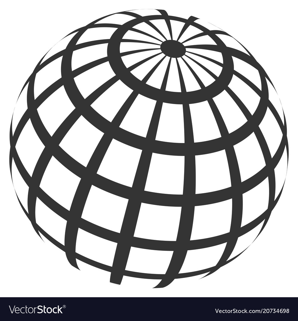 Abstract sphere grid