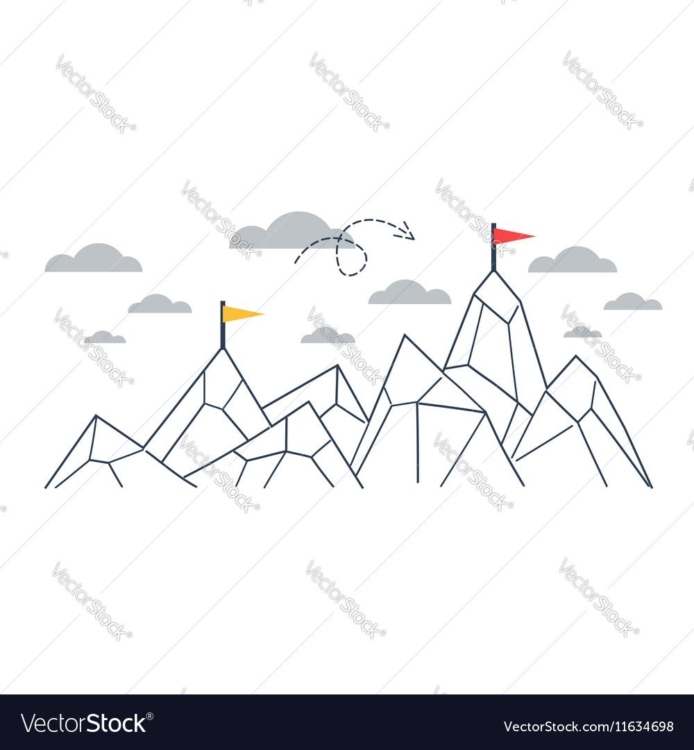 Upgrade concept comparison idea vector image