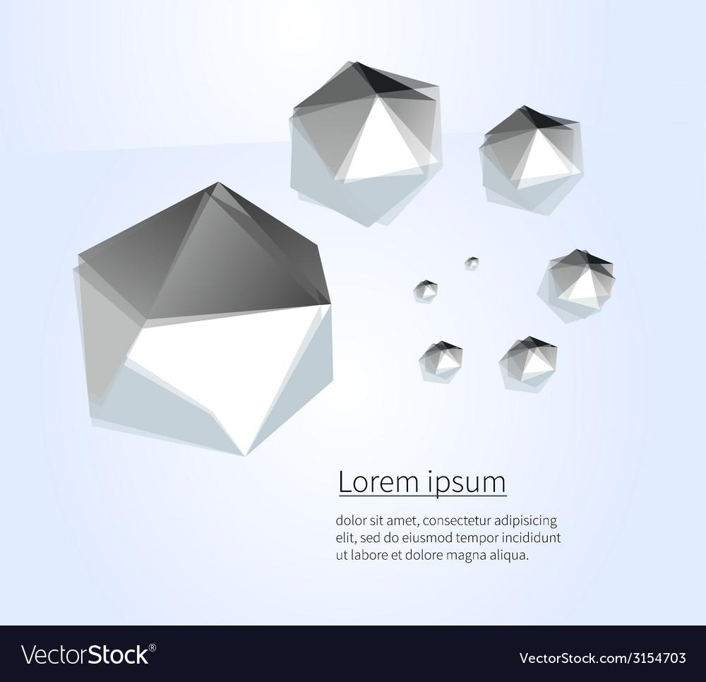 Sea figure vector image