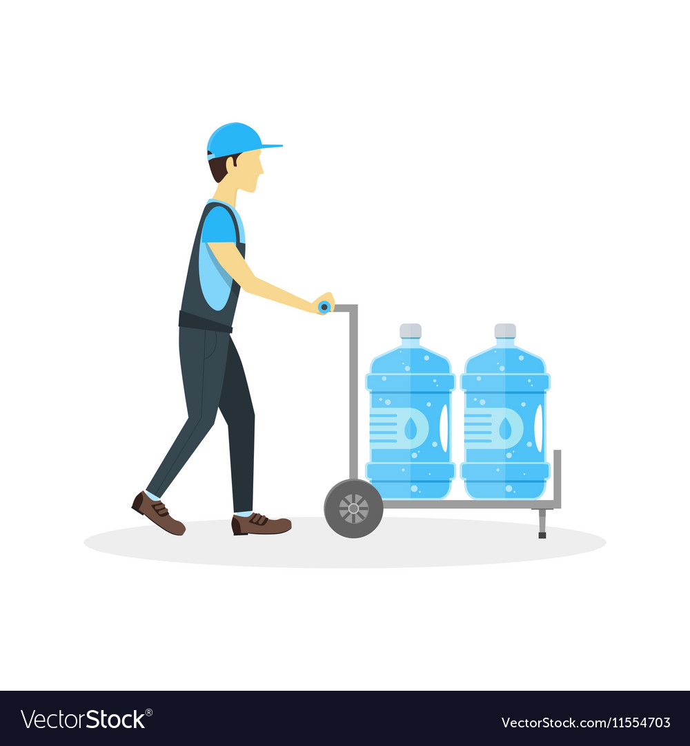 Water Delivery Boy or Man