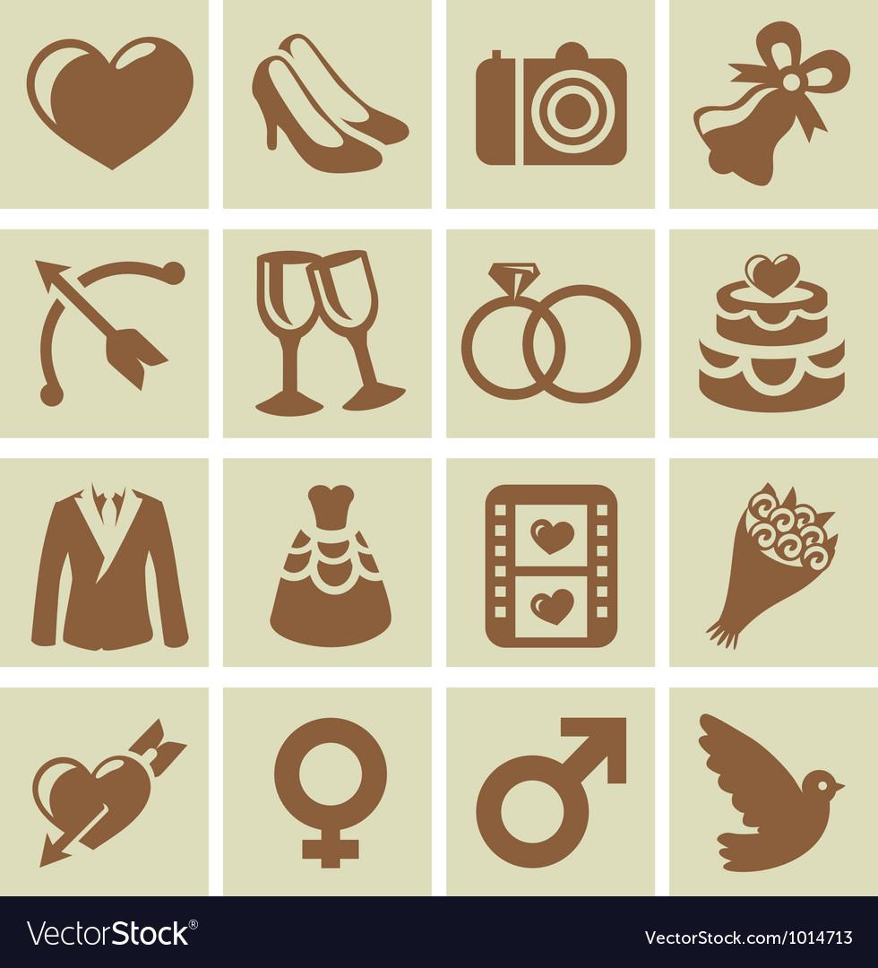 Design elements for wedding cards