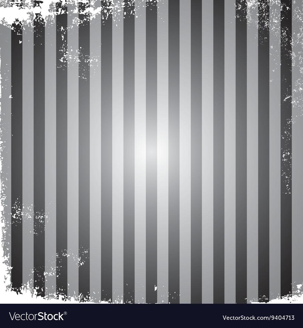Grungy stripe broken page frame vintage retro Vector Image