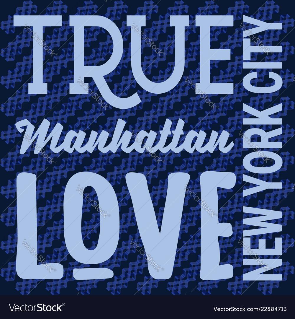 New york t-shirt apparel designs print