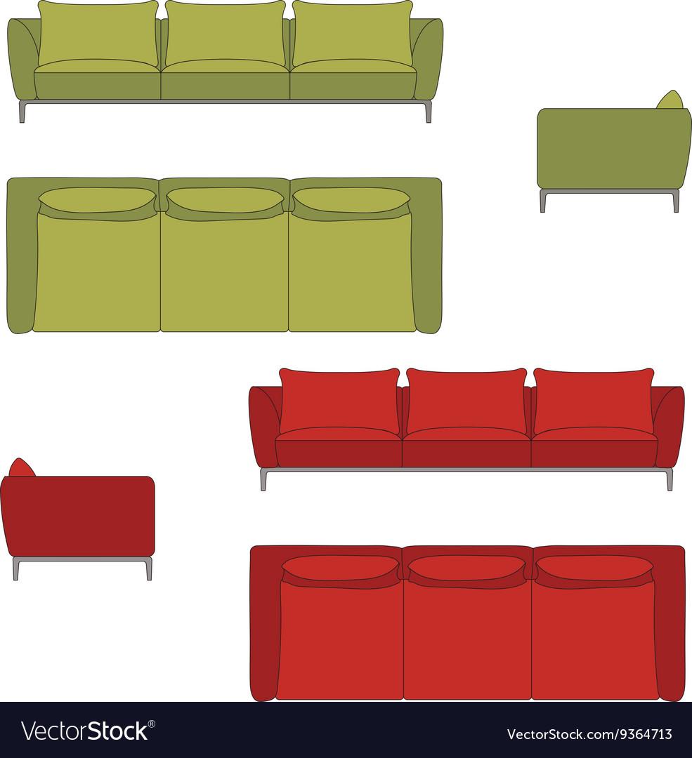 Sofa Set Flat