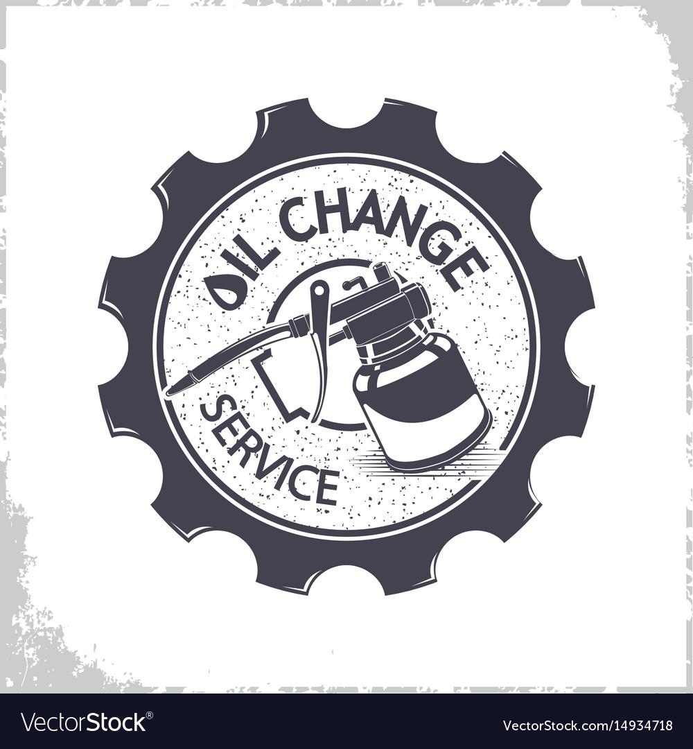 Oil change services logo