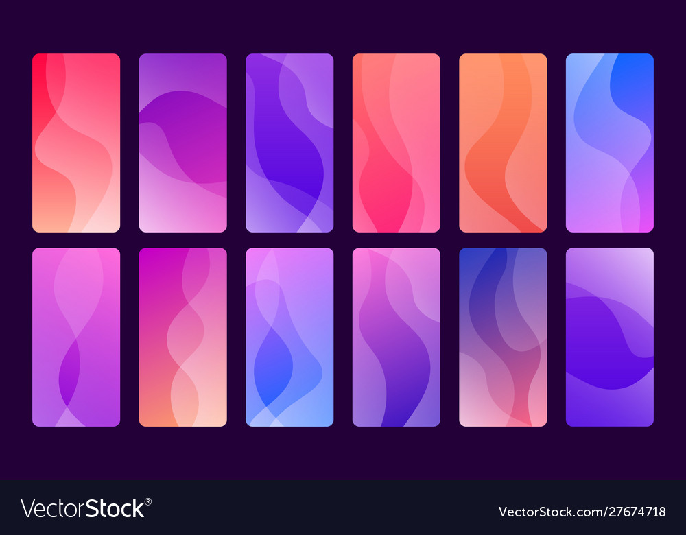 Set 12 beautiful and trendy wallpapers for