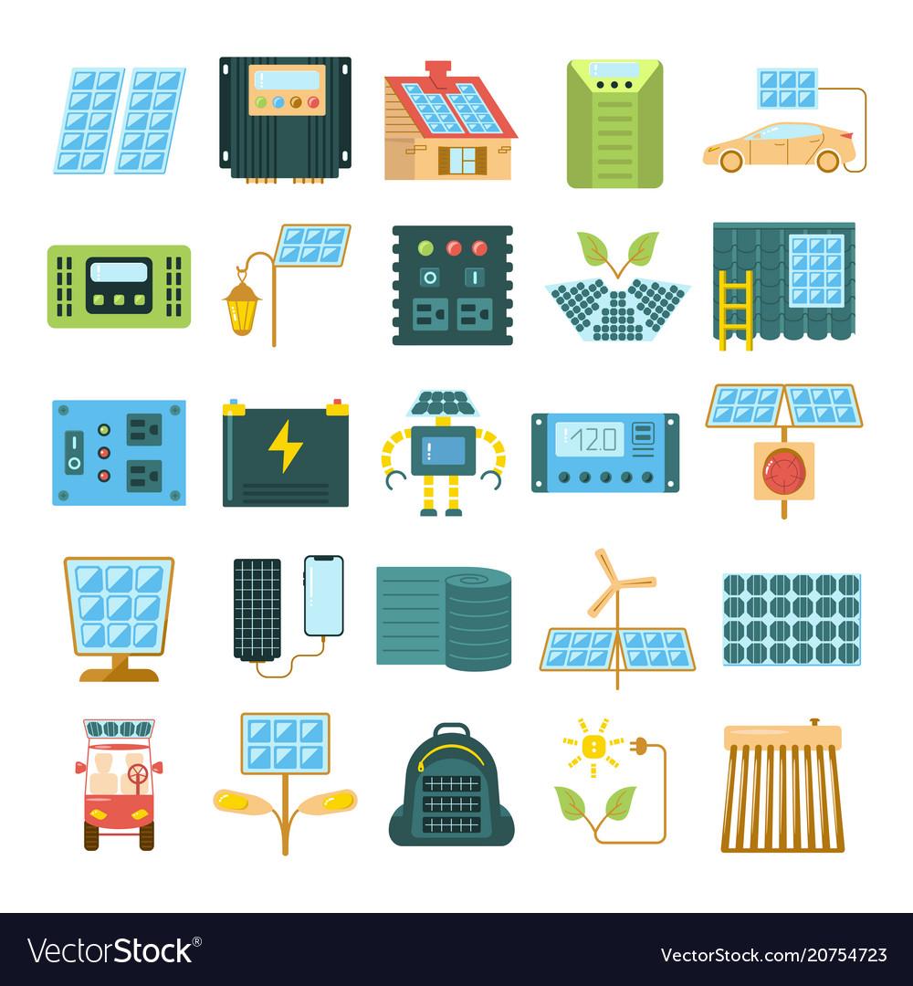 Modern eco technologies vector image