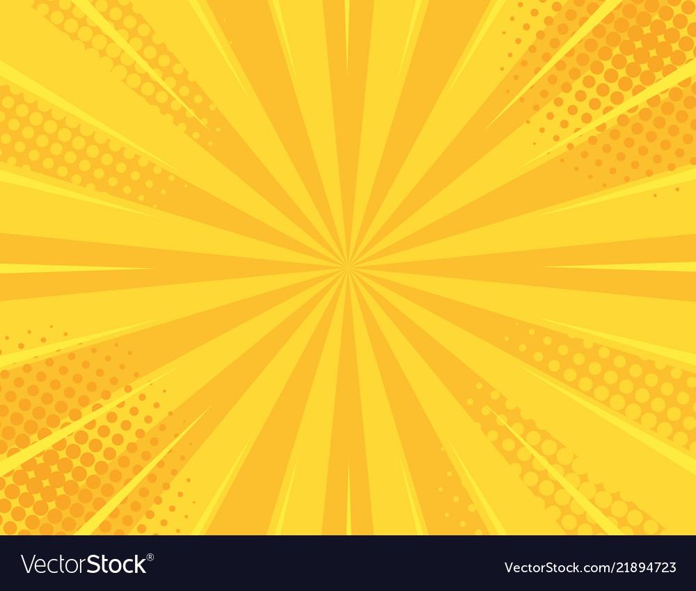 Yellow retro vintage style background