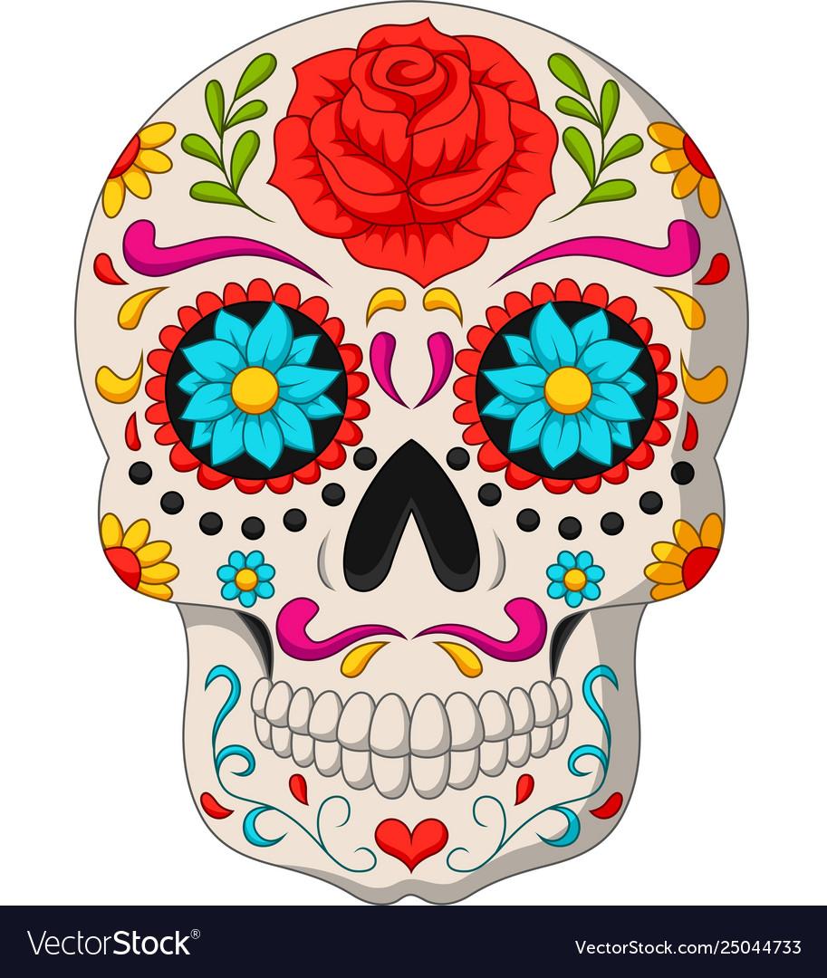 Day dead skulls