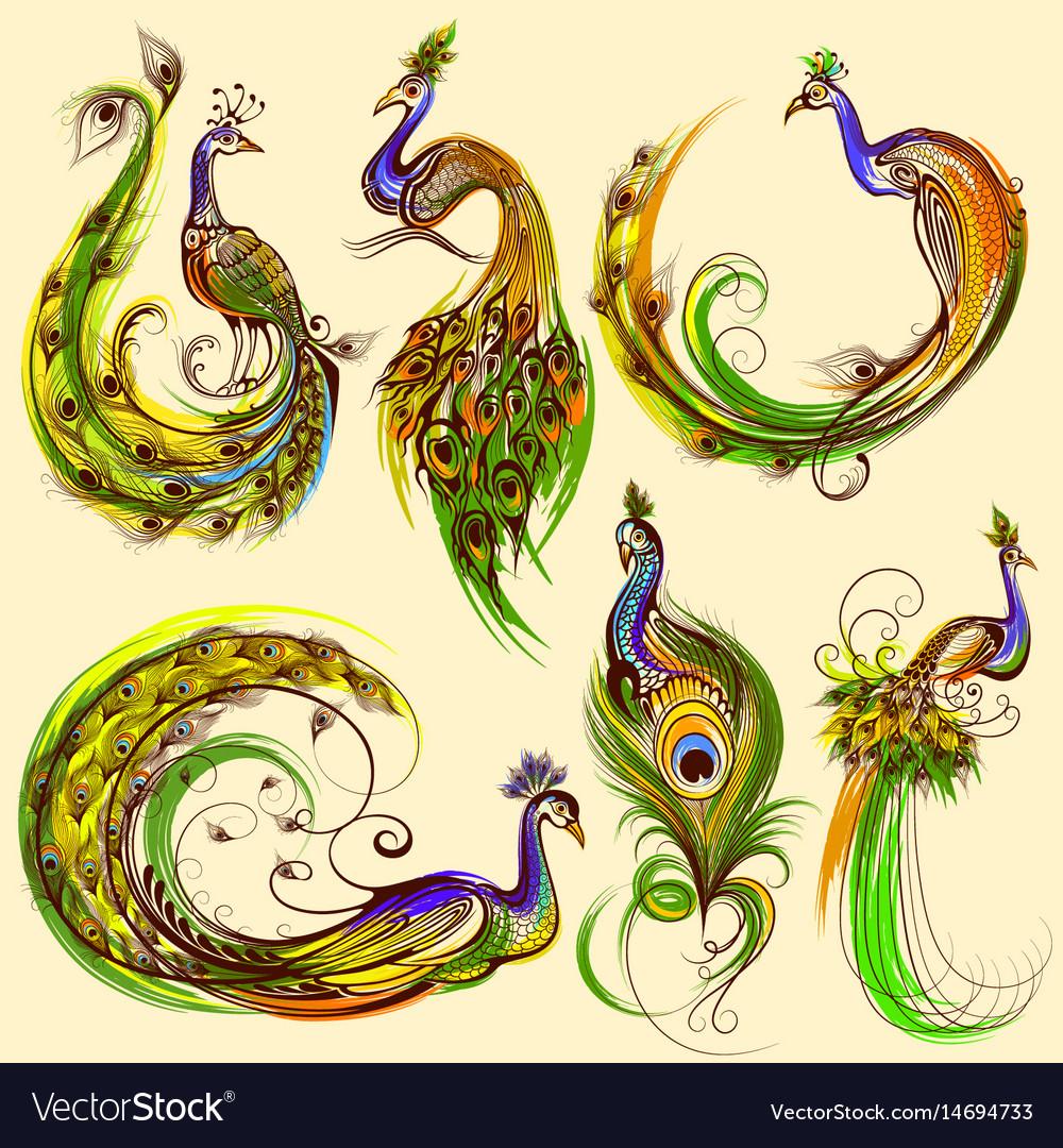 Tattoo art design of collectio
