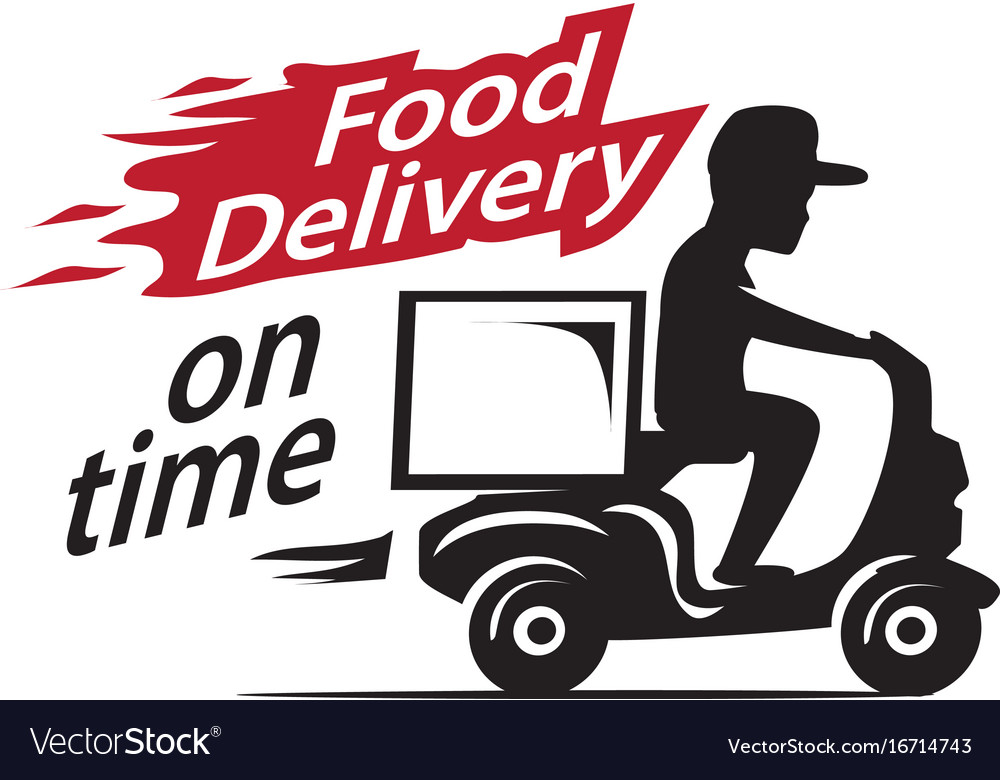Food delivery motorcycle