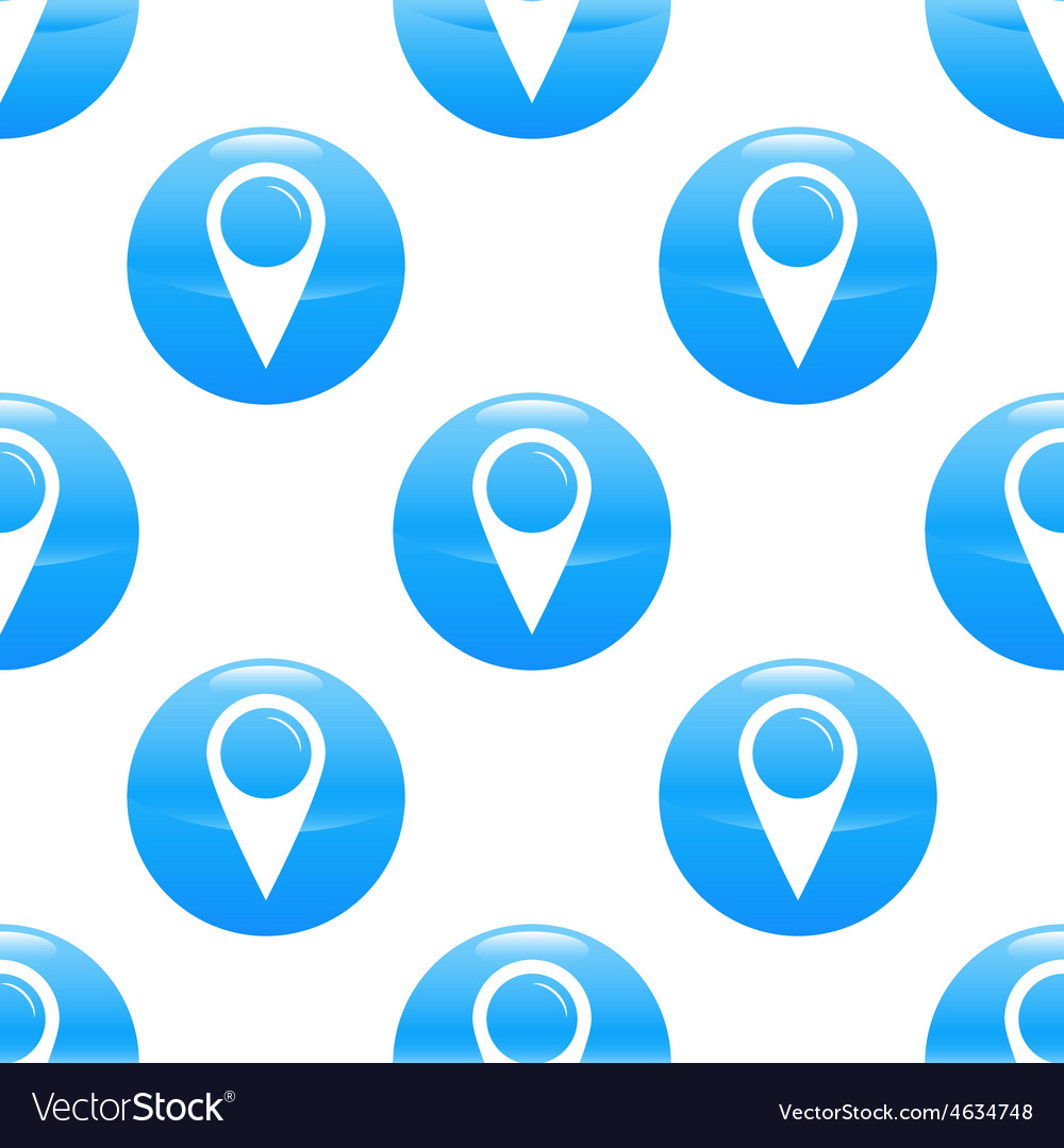 Map pointer sign pattern