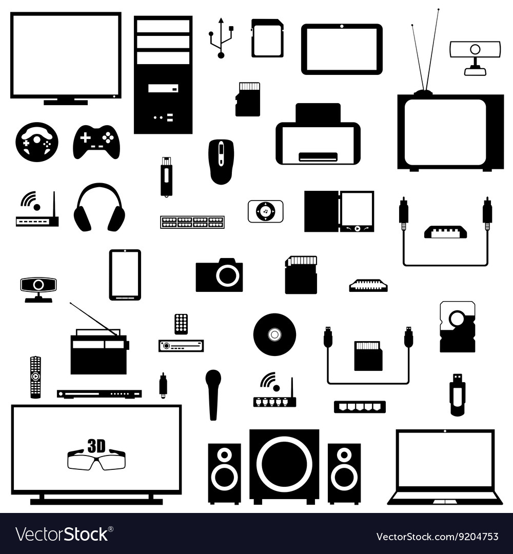 A set of digital devices