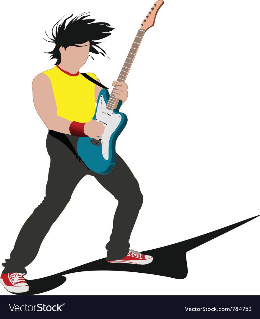 Rockstar vector image