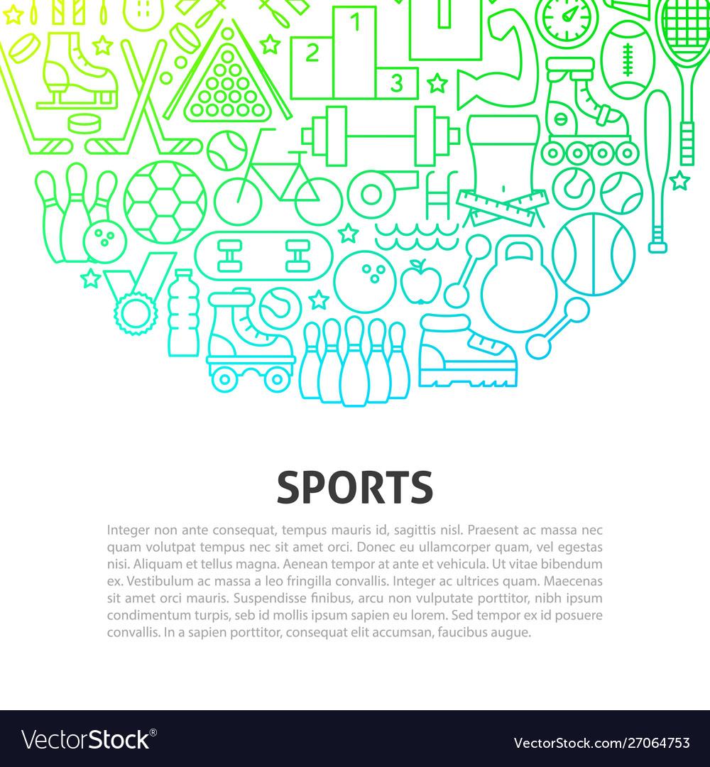 Sports line concept