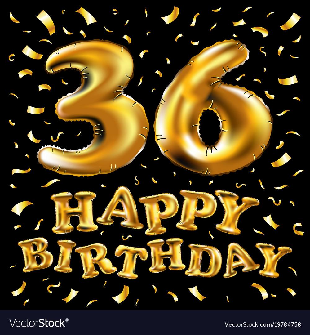 36 лет день рождения картинки