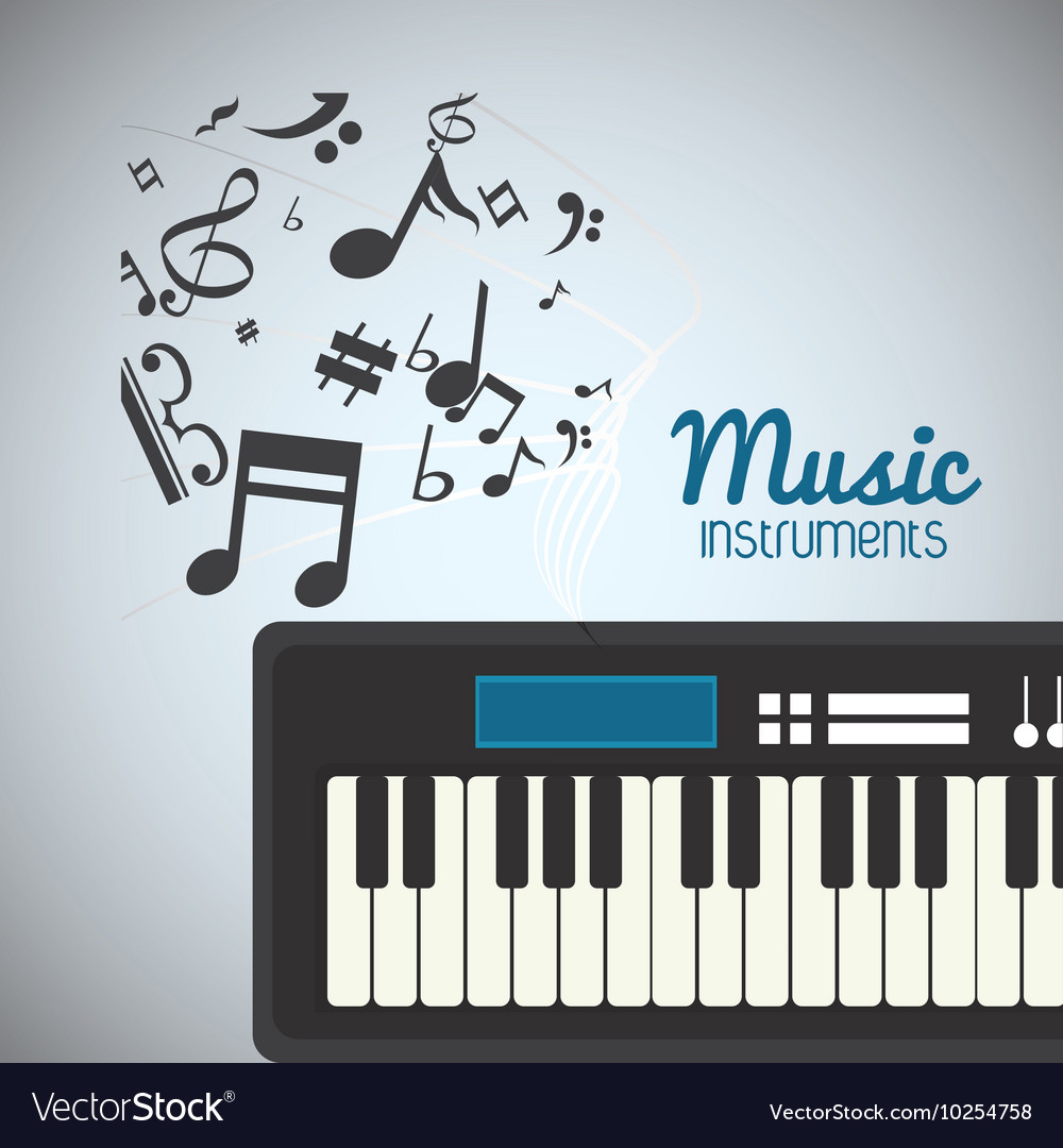 Piano music sound instrument