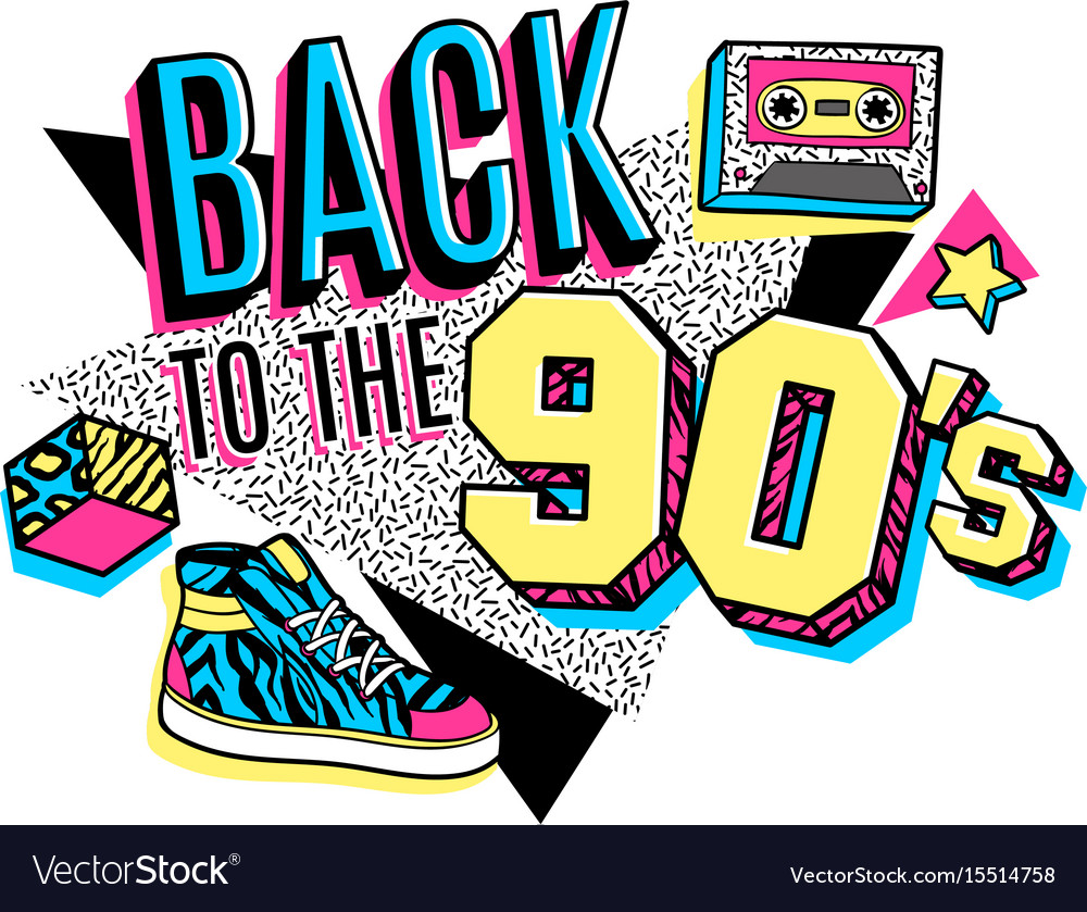 poster in 80s 90s memphis style royalty free vector image rh vectorstock com vector post driver vector post pounder