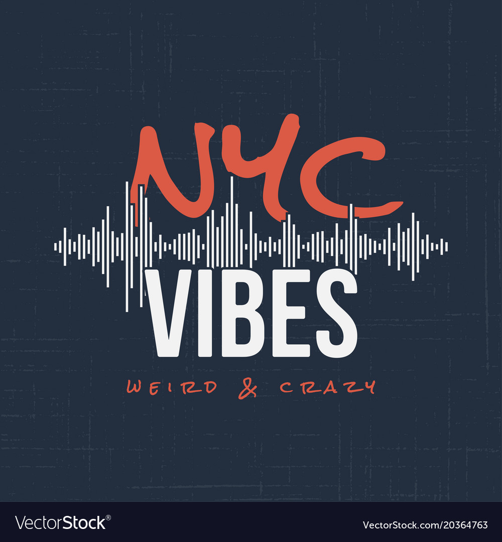 New york vibes t-shirt and apparel design