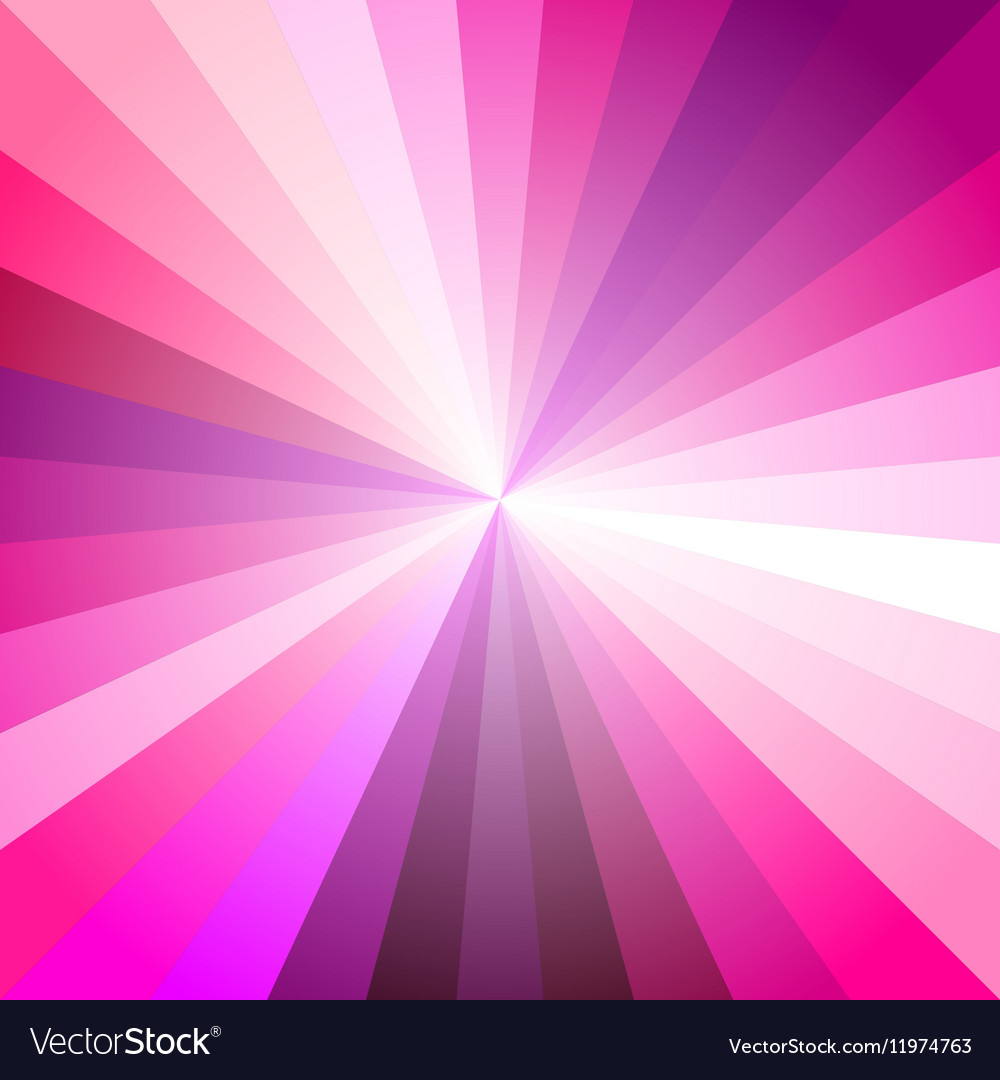 Pink light ray abstract background