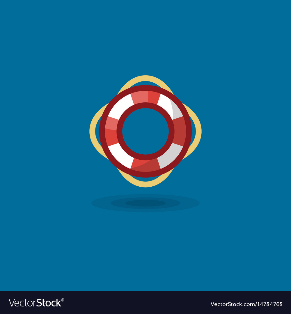 Icon life ring a marine