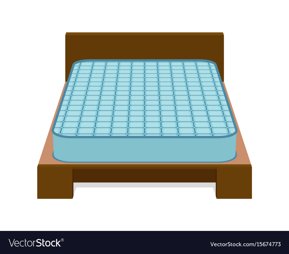 Comfortable mattress for sleeping on the bed