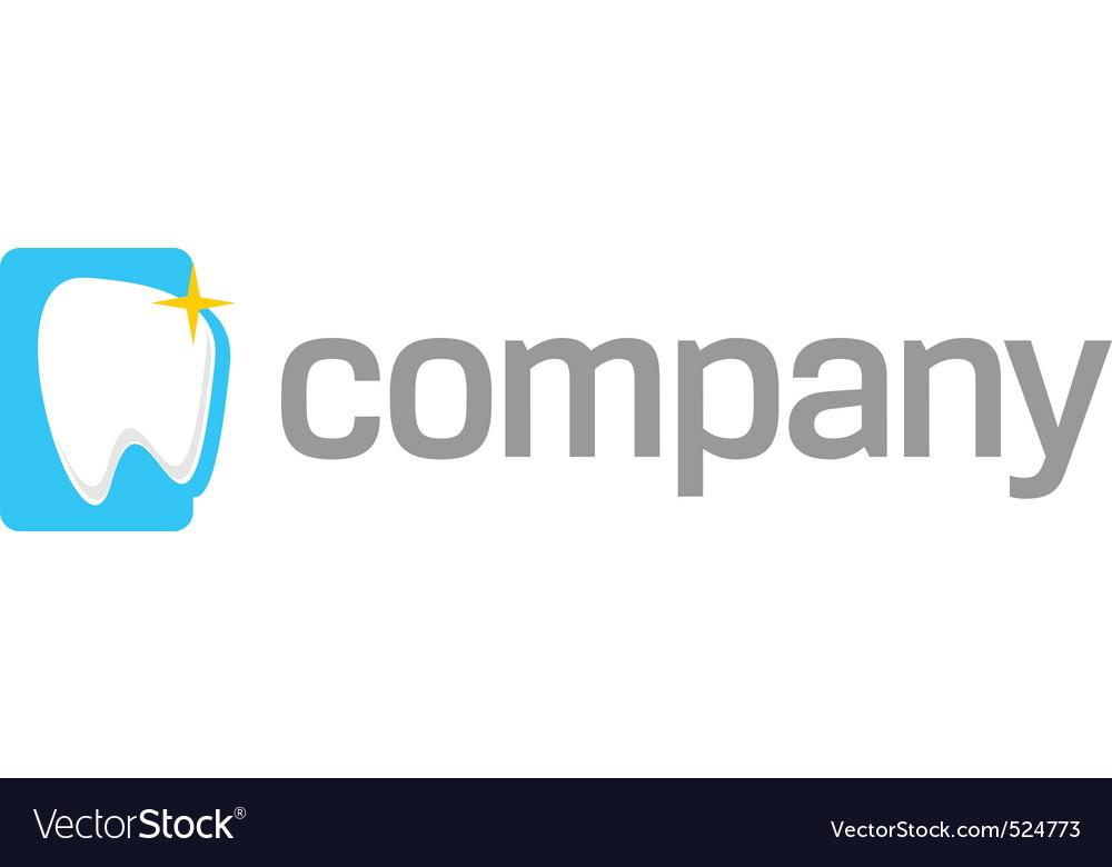 White tooth logo