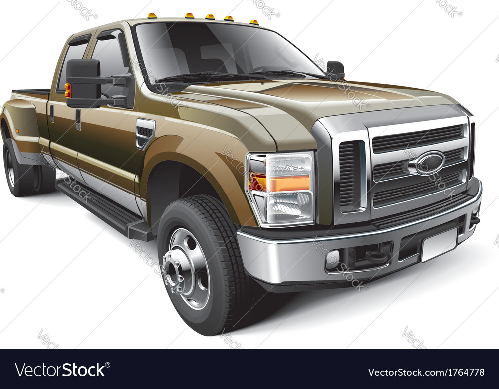 American full size pickup truck