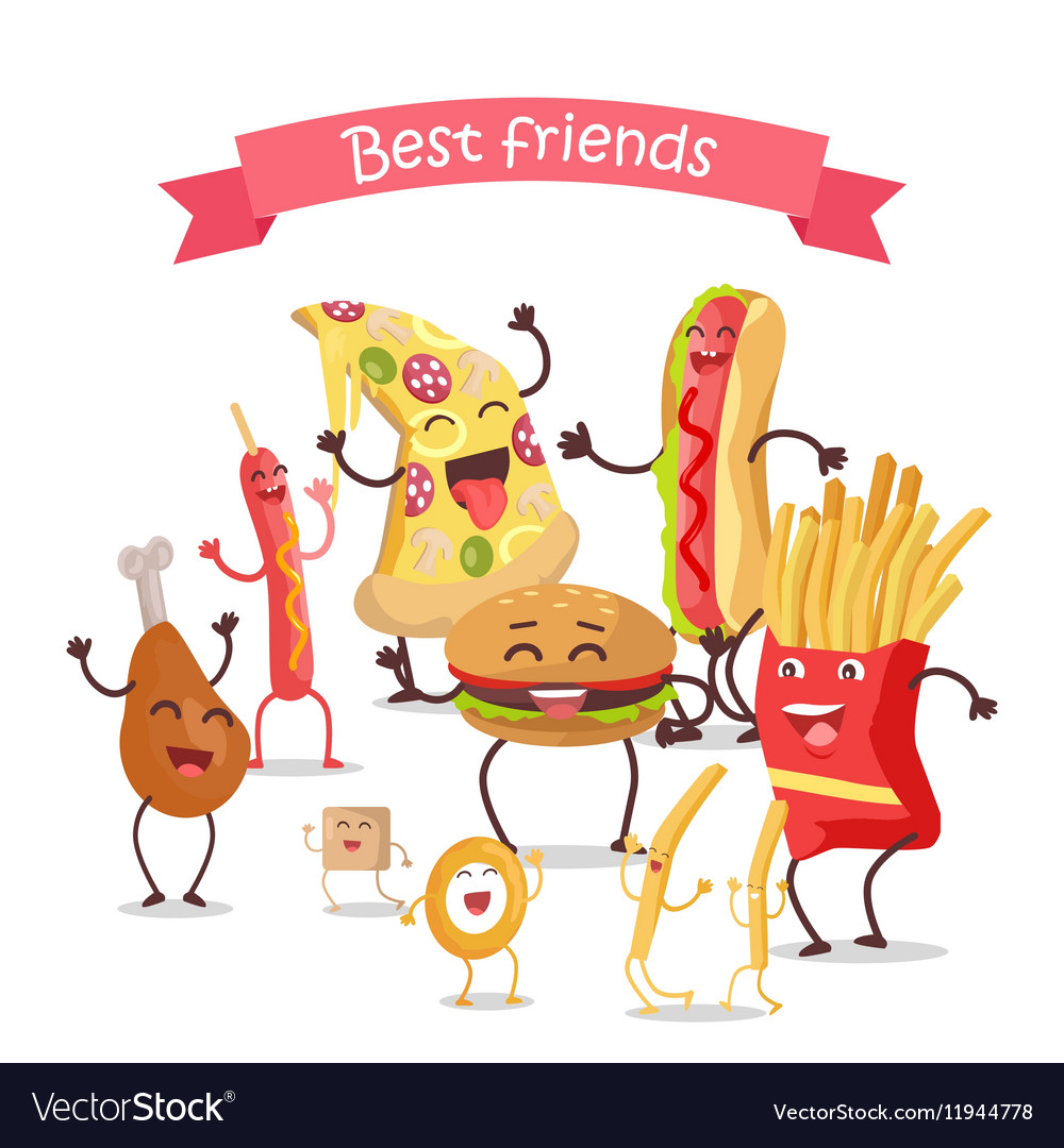 Best Friends Food Banner