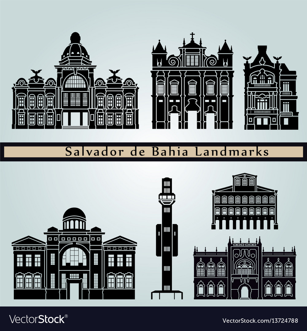 Salvador de bahia v2 landmarks
