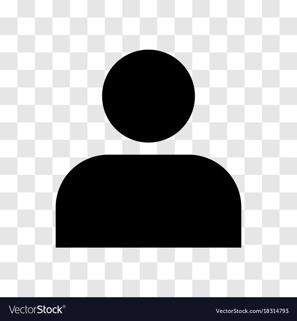 Person icon - iconic design vector image