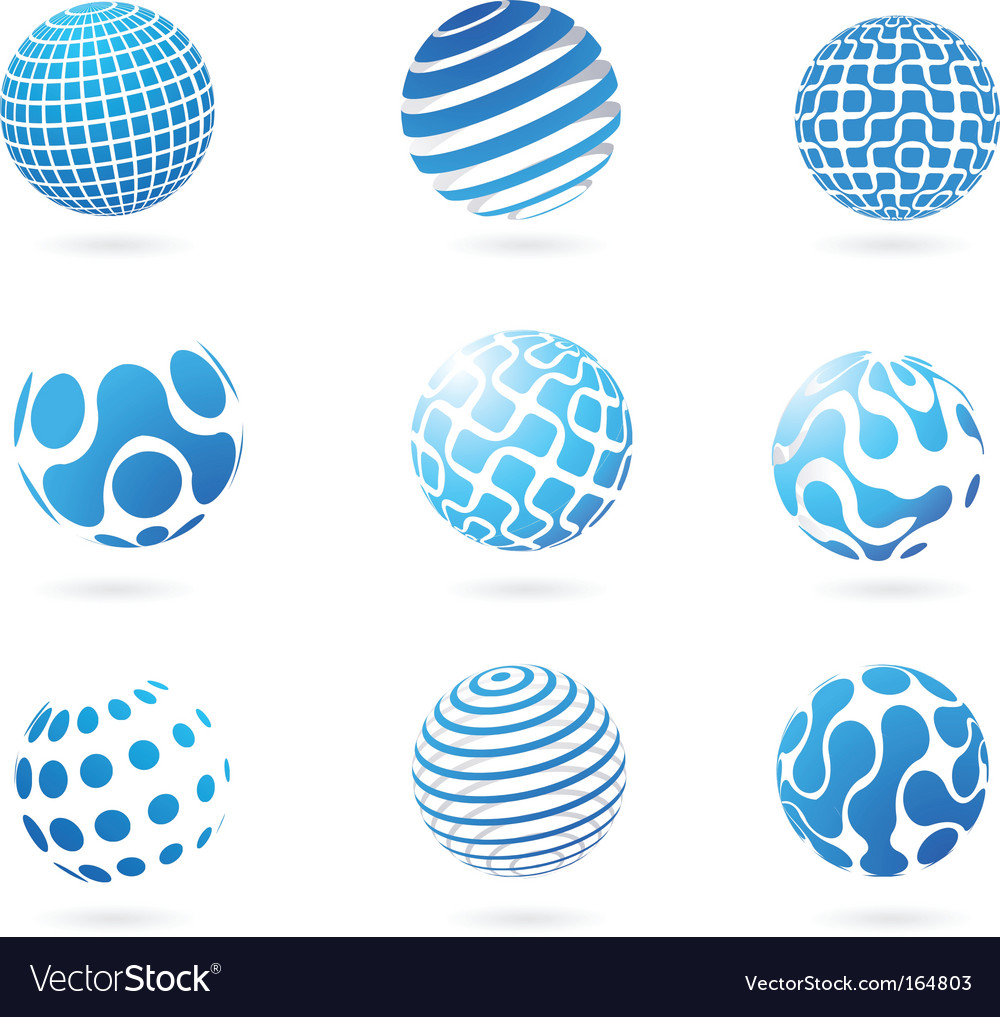Abstract globes