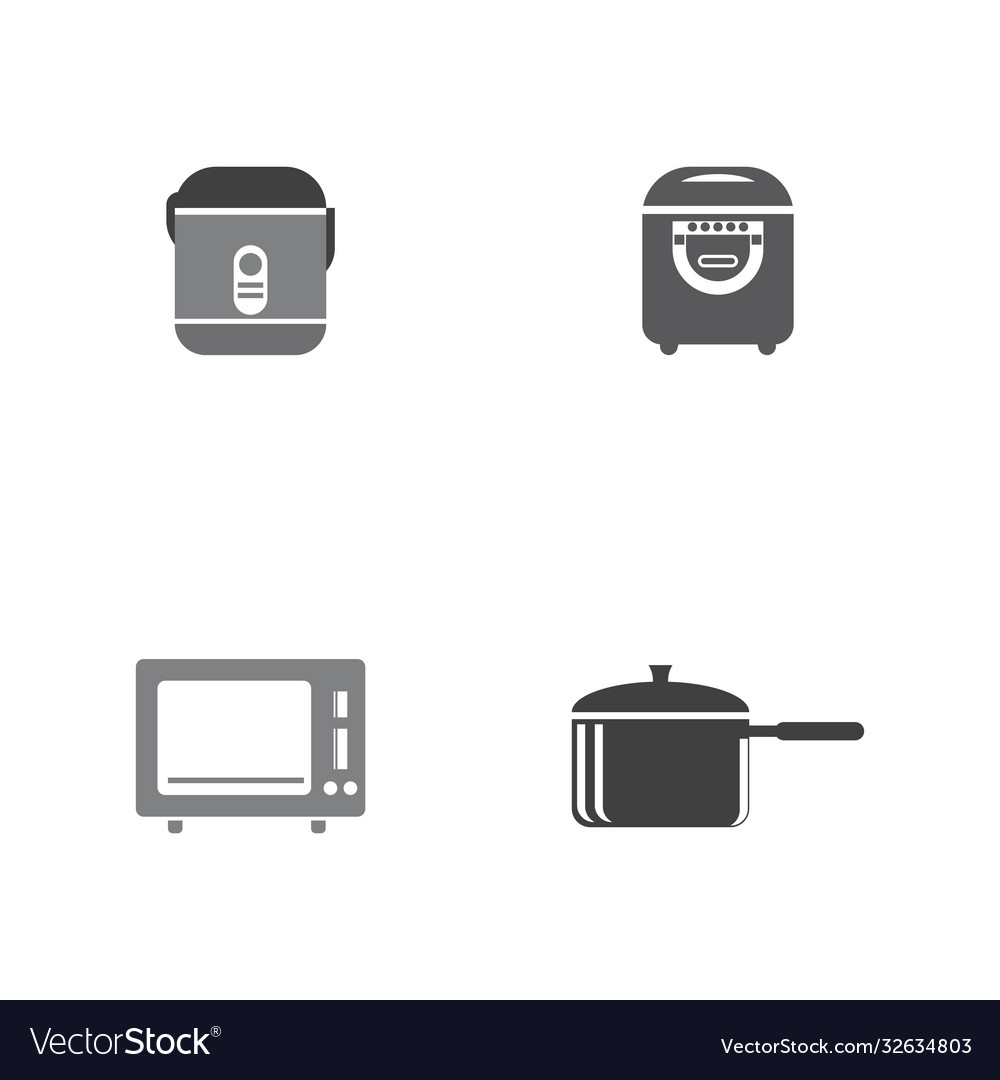 Cooking icon template