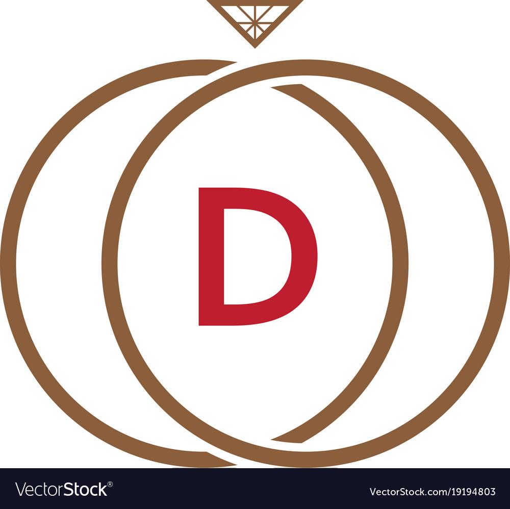 Ring diamond logo
