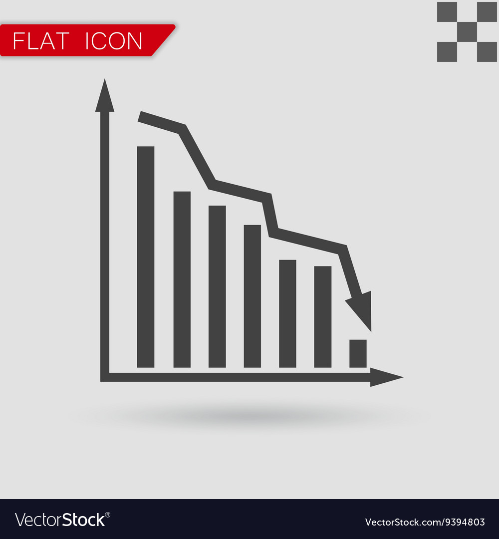 Graph Icon UI Flat Style