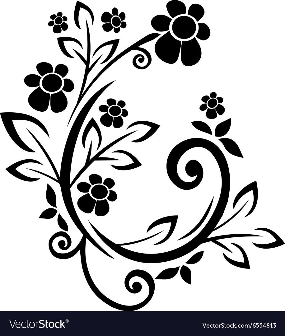 Flourishes black