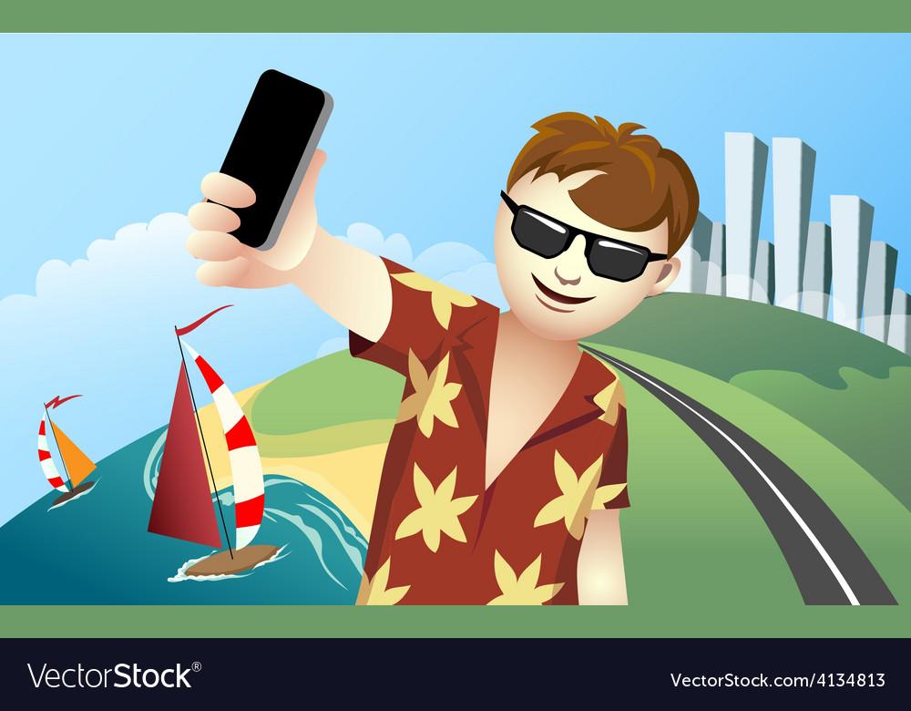 Vacation Selfie