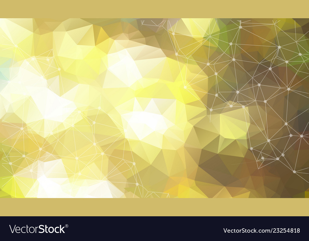 Abstract space yellow background chaotically