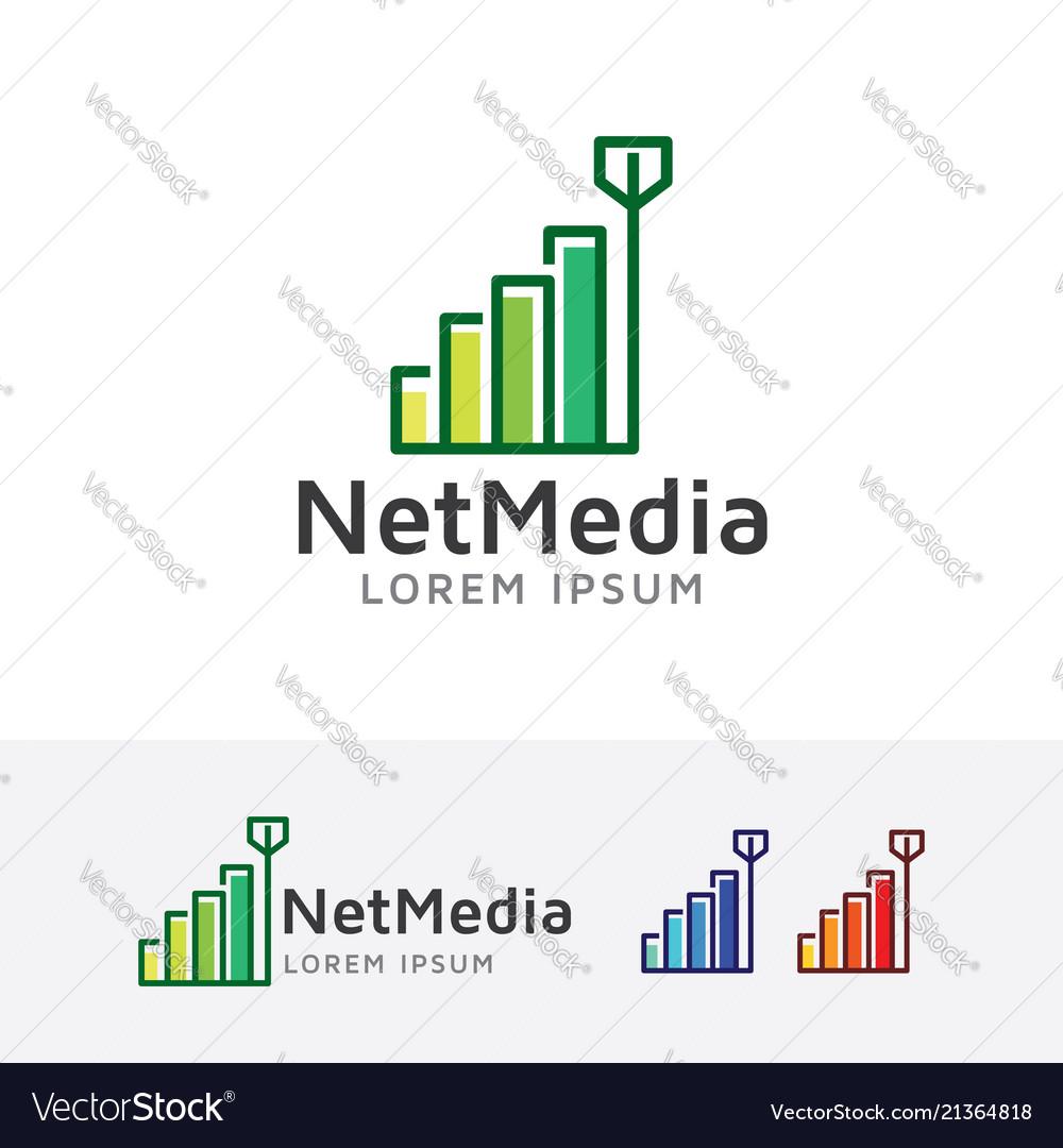 Network media logo