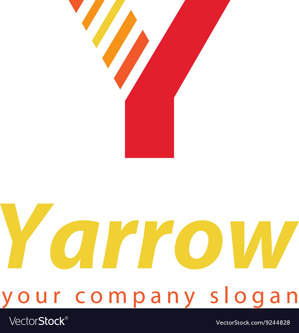 Letter Y Logo Template For Your Company Royalty Free Vector