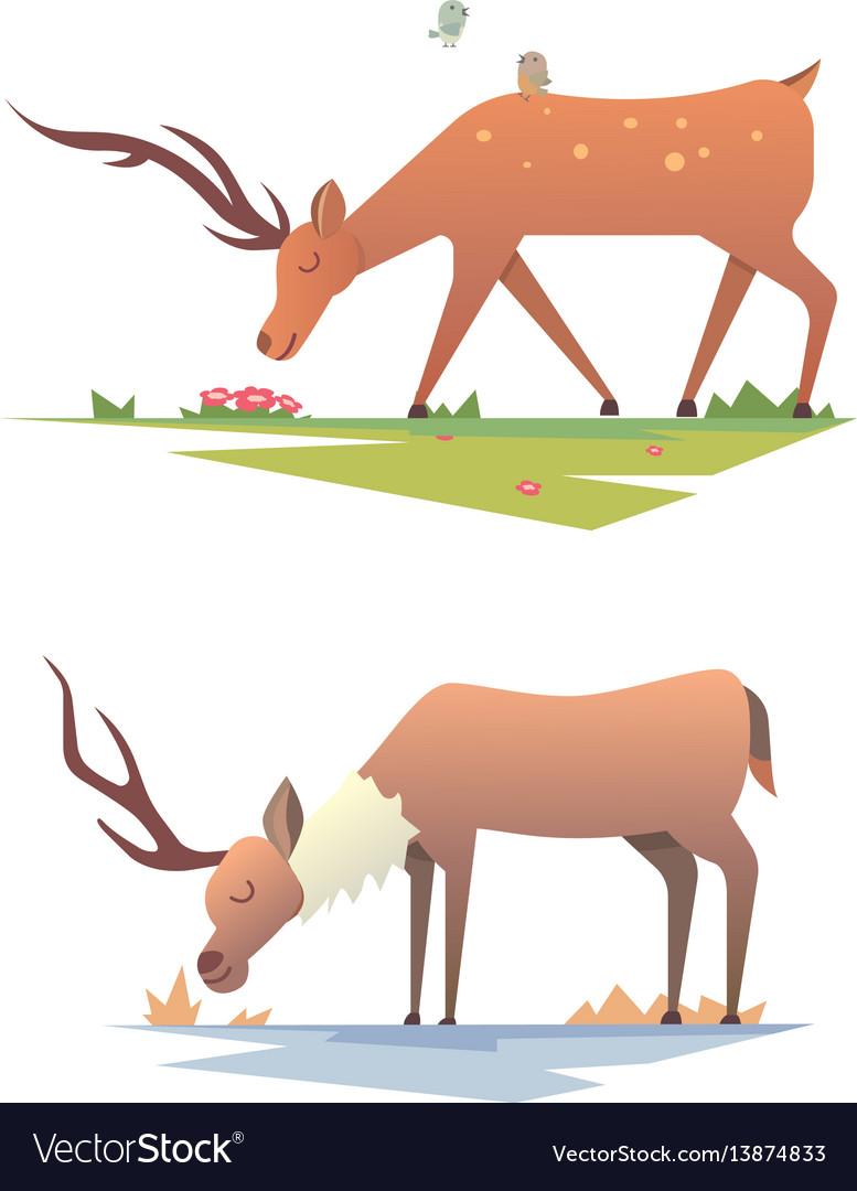 Christmas reindeer holiday mammal deer xmas