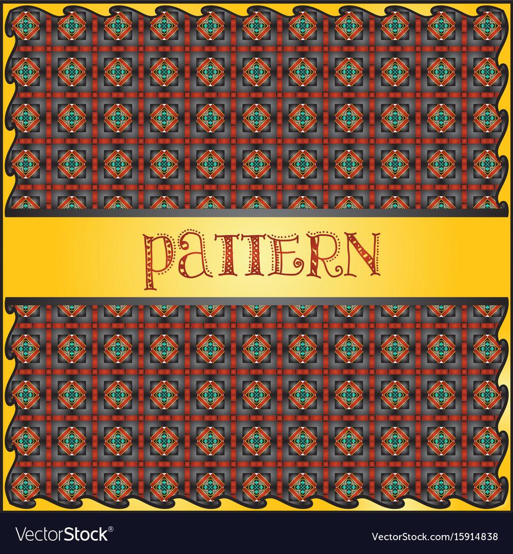 Decorative geometric colorful pattern background