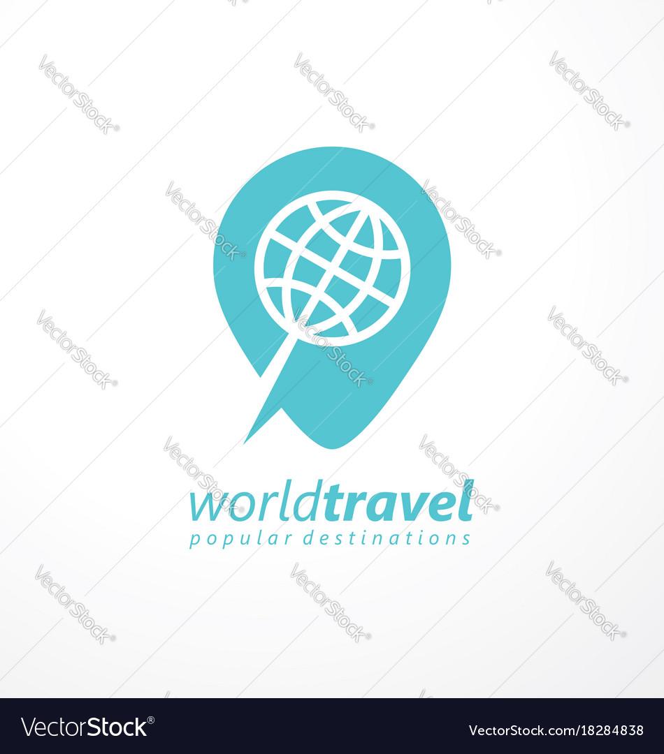 Logo idea for travel agency